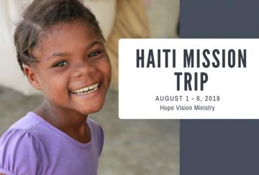 August Mission Trip