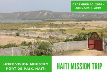December Mission Trip